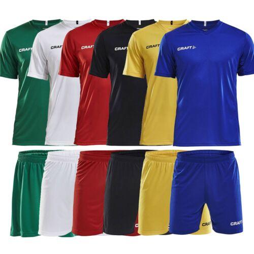 ▷ Craft Fußball Set Trikot + Short Trikotset Teamwear 10er 12er 14er Trikotsatz