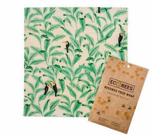 Ecobees-CERA-D-039-API-Eco-Friendly-Riutilizzabile-Cibo-aggrapparsi-Wraps-Varieta-Confezione-da-3