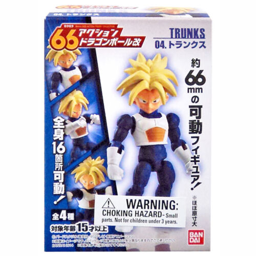 Dragon Ball Z 66 Kai Trunks Action Figure NEW Toys Figures DBZ Anime