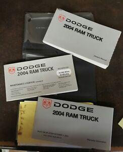 2004 dodge ram truck owners manual ebay rh ebay com 2004 dodge ram 2500 service manual 2014 dodge ram owners manual pdf