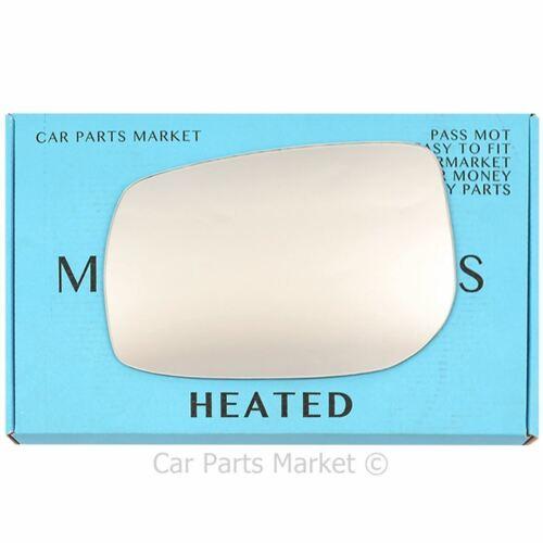 Left Passenger side Wing door mirror glass for Toyota Auris 06-12 heated