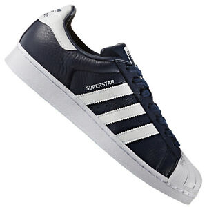 adidas superstar bleu navy