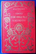Mme. Emile de Girardin. contes d 'une vieille fille a ses neveux: 1932-mit gráfico.