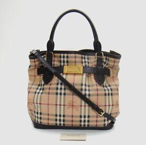 0891277c4051 Image is loading 1495-Burberry-Haymarket-Check-Medium-Golderton-Tote-Bag