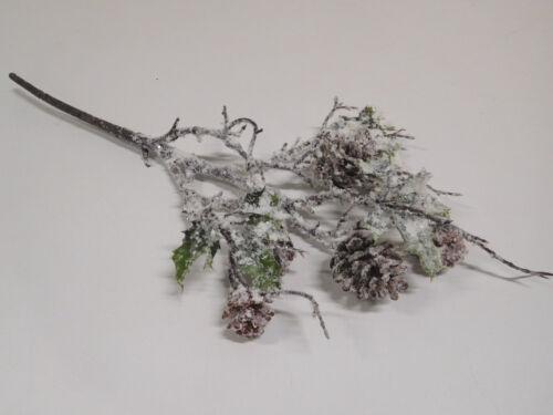 Artificielle cônes branche tannen cônes branche neige des pommes de pin 305625-00 f38