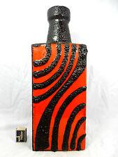 "Beautiful glazed 70´s design Scheurich "" Fat Lava ""  Keramik Vase 281 - 49"