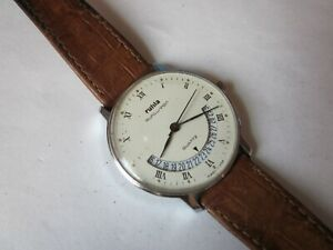 RUHLA EUROCHRON Quartz Armbanduhr Kaliber 13 Wristwatch DDR GDR
