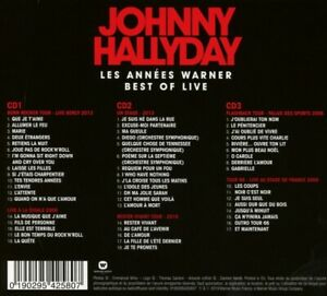 JOHNNY-HALLYDAY-BEST-OF-LIVE-Package-numerique-3-CD-NEUF