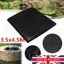 UK 3.5x4.5M Waterproof Heavy Duty PVC Garden Pool Pond Liner /& Fish Pond Liner