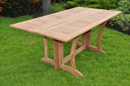 TEAK DINING SET CONSOLE TABLE OUTDOOR PATIO FURNITURE NEW WARW DECK