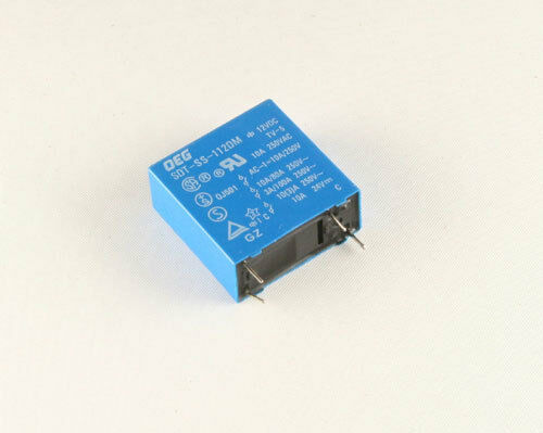 10x OEG SDT-SS-112DM 10A 250VAC 24VDC 4 Pin Contact General Purpose Relay SPST
