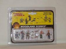 WOODLAND SCENICS SCENIC ACCENTS RABBIT HUNT #A1903 HO SCALE