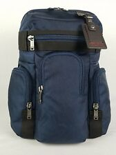 Tumi Wallingford Triple Pocket Laptop Backpack Navy Blue 69383NVOP $295