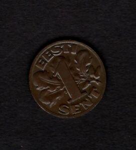10 Senti UNC Estonia 1 PCS Coin 2002 KM#22