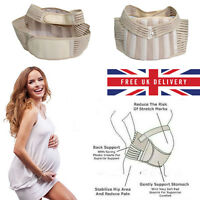 S M L Maternity Support Belt Pregnancy Back Support Waist Belly Band Baby Bump