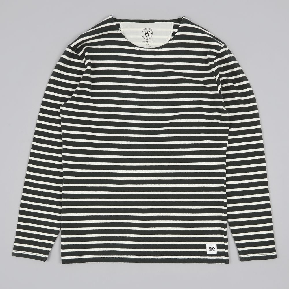WOOD WOOD Striped Jersey Top - M / L / XL - 100% Soft Cotton - Gorgeous - BNWT