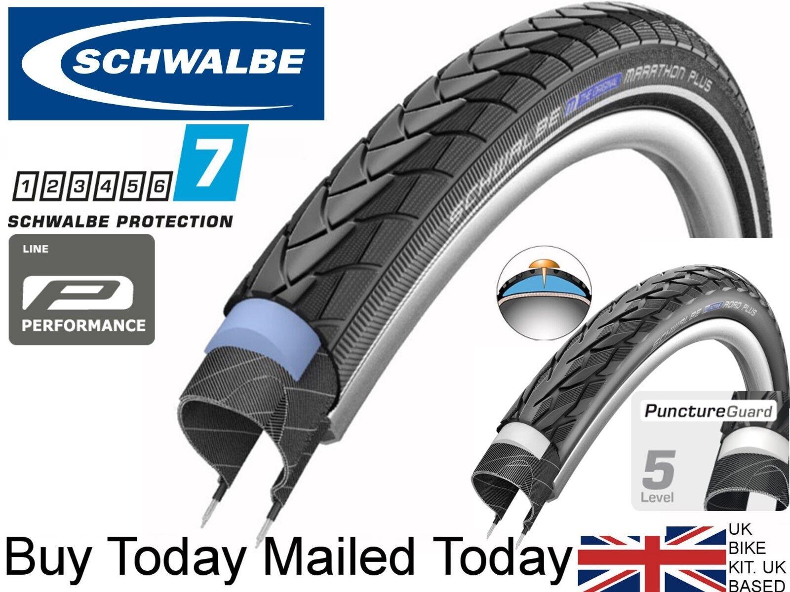 Schwalbe Marathon Plus 700x25C Wire Endurance Clincher SmartGuard Reflex 67TPI 8