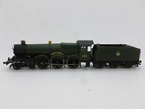 Hornby-00-Gauge-4-6-0-Castle-Class-Locomotive-5053-Earl-Cairns-BR-Green-E-Emb