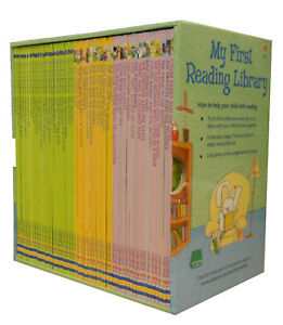 Usborne-Very-First-Reading-Library-50-Books-Set-Collection-Pack-Read-At-Home