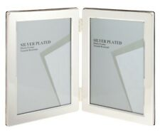 Unity 35 X 5 Inch Portrait Double Photo Frame Silver Plated Ebay