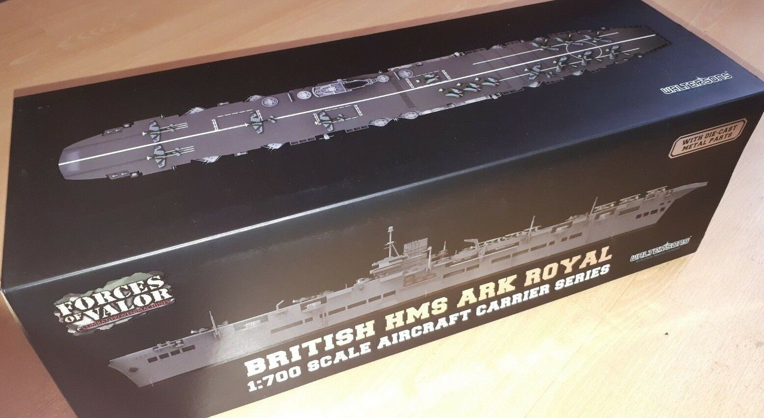 risparmia il 50% -75% di sconto Forces Forces Forces OF VALOR 1 700 Ark Royal-classeE PORTAEREI Royal Navy, HMS Ark Royal, la Norvegia  confortevole