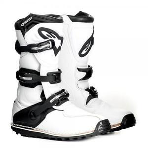 Alpinestars-TECH-T-Trials-Bike-Boots-White-ALL-SIZES-SPECIAL-OFFER
