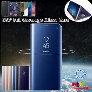 Custodia Iphone Xs Max Protezione Vetro Specchio Cover Iphone Xs