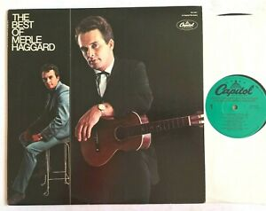 MERLE HAGGARD - The Best Of 1979 US Country Vinyl LP Album SN-16054 VG+/VG+