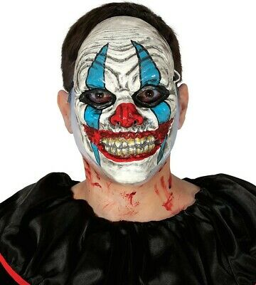 MENS SCARY BUTCHER Fancy Dress Halloween Costume Outfit Saw Serial Killer Hostel