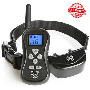 Dog Training Collar with Remote Bark Control Waterproof Shock + Beep + Vibration