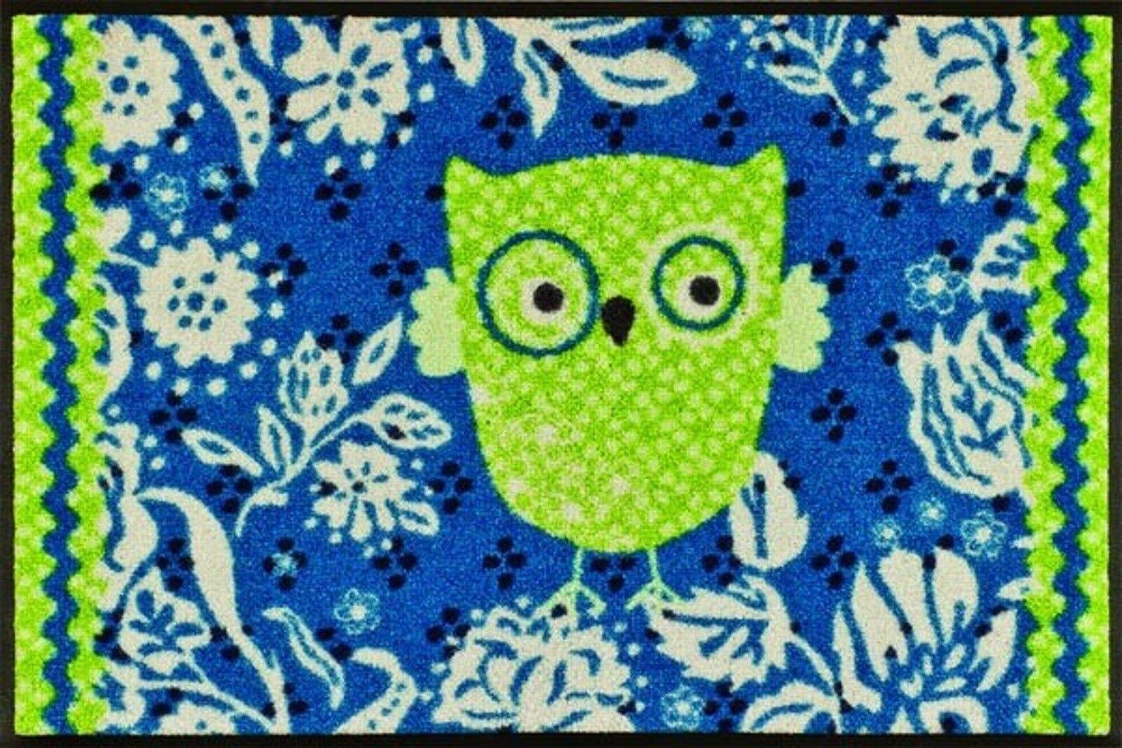 Zerbino GUFO türmatte türmatte türmatte OWLY 50x75 cm fußabtreter pulito tapis tappetino fußabstreifer 1e4812