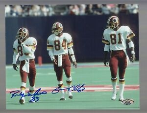 Gary-Clark-amp-Ricky-Sanders-Redskins-POSSE-Signed-8-X-10-Color-Photo-SCH-Auth