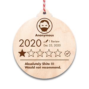 Verrouillage d/'évaluation babioles de Noël de Noël 2020 Souvenir Gravé Cadeau Unique