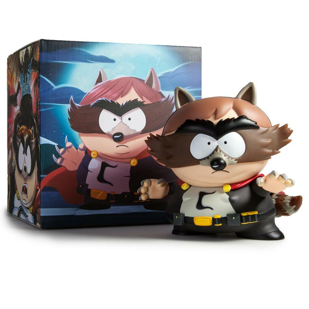 KIDROBOT X South Park Park Park The Fractured But Whole  The Coon  Cartman 7  vinyl figure 350874