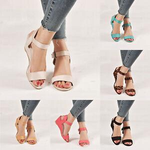 Schuhe Keilabsatz Sandalen Casual Zu 36 Sandaletten Damen Gr Details Wedges Party 43 Sommer wN8nOk0XP