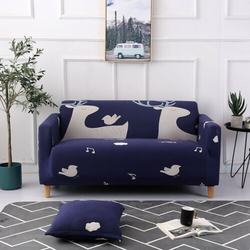 4 Seater Stretch Couch Sofa Lounge Covers Chair Loveseat Recliner Cover Easy Fit