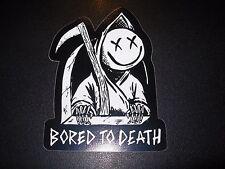 BLINK 182 Bored To Death California Smiley Logo Sticker Decal Skate skateboard