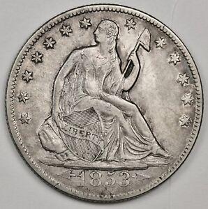 1853-o-Seated-Liberty-Half-Error-Die-Cracks-Obverse-Natural-A-U-124612