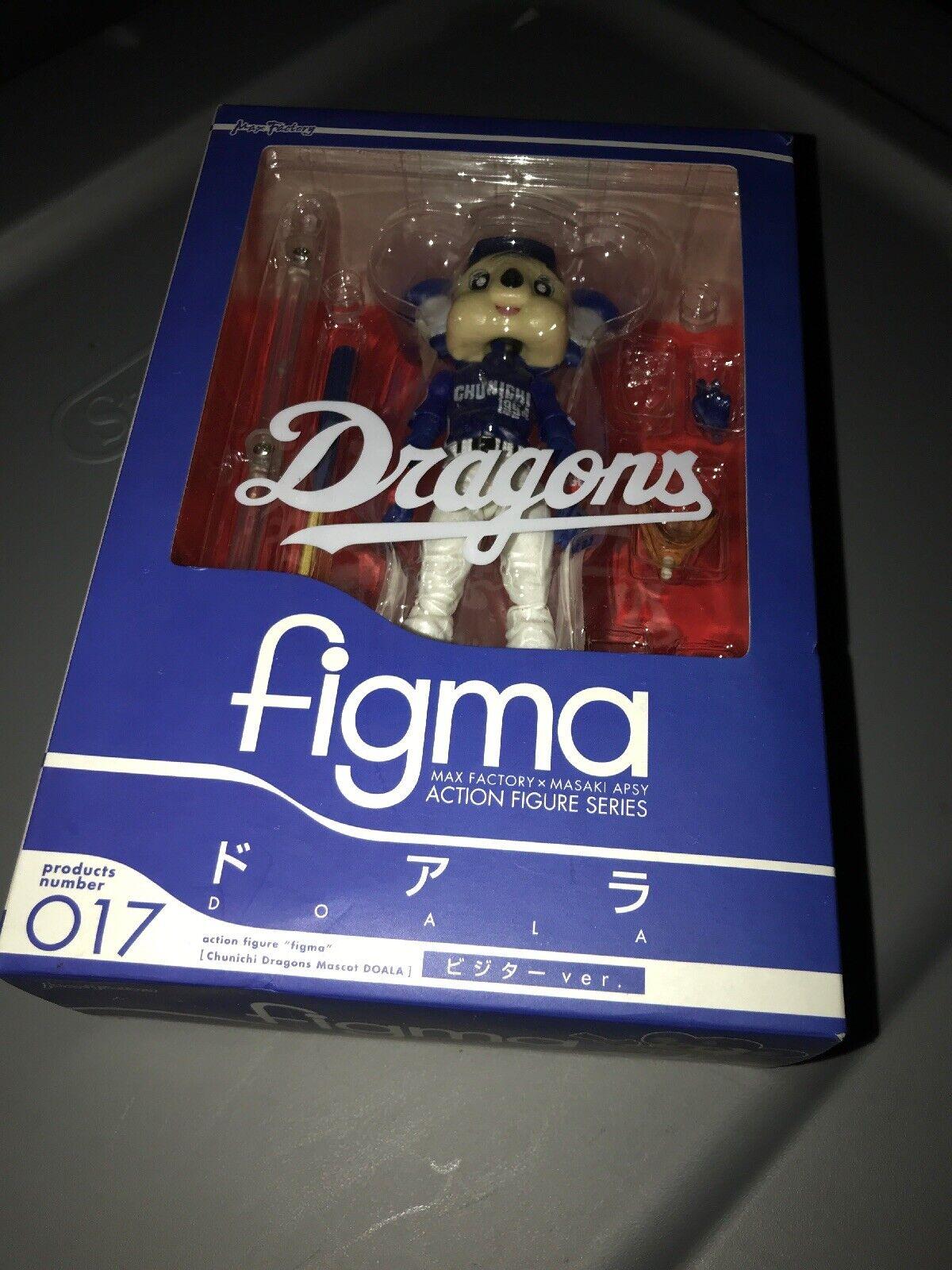 Max Factory Figma Dragones Mascota Doala versión 017 fábrica sellada caja de venta al por menor