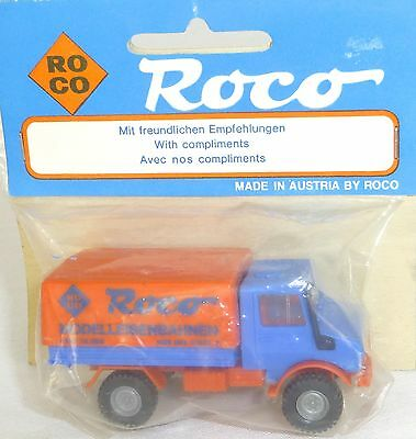 Cars Objective Unimog Exhibition Model Promo Roco Ovp H0 1/87 # Å To Have A Unique National Style