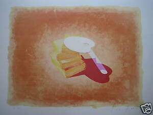 "FANTI LUCIO (1945) LITHOGRAPHIE ORIGINALE N-S "" PALETTE"" ScB43y36-09155100-358364002"
