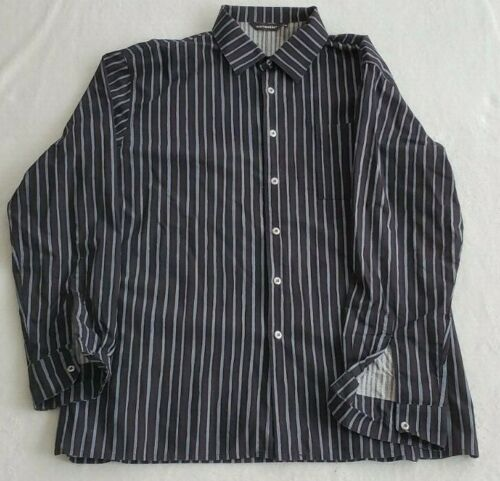 Men's Marimekko Jokapoika Shirt Black with Gray St
