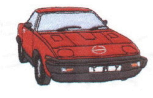 Triumph TR7 brodé et personnalisé veste polaire