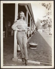 GLORIA HENRY Dennis the Menace mom 1947 film debut VINTAGE PHOTO sexy actress