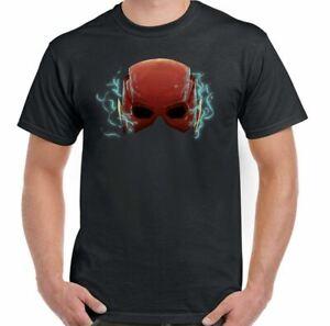 The-Flash-T-Shirt-Inspired-Helmet-Mens-Superhero-Marvel-Avengers-Thor-Iron-Man