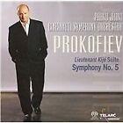 Sergey Prokofiev - Prokofiev: Lieutenant Kijé Suite; Symphony No. 5 (2008)
