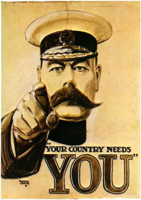 Your country needs you...WWII print/poster on 230gsm photo paper choose size