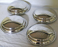 1946 Ford Passenger Car Stainless Hubcap W Ford Logo '46 - Set Of 4 Hubcaps