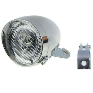 Classic LED Vintage Bike Headlight Bicycle Retro Head Light Front Light Fog Lamp