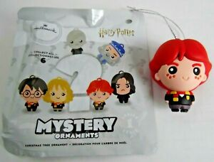 Ron-Weasley-RARE-Hallmark-Series-1-Harry-Potter-Mystery-Ornament-Christmas-Tree